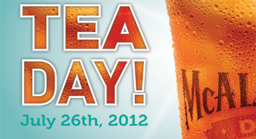 Free Tea Day! July 26th, 2012